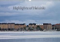 Highlights of Helsinki (Wandkalender 2018 DIN A3 quer) von M.Kipper,  Christine