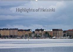 Highlights of Helsinki (Wandkalender 2019 DIN A2 quer) von M.Kipper,  Christine