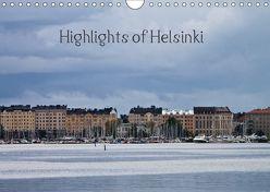 Highlights of Helsinki (Wandkalender 2019 DIN A4 quer) von M.Kipper,  Christine