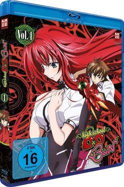 Highschool DxD BorN – Blu-ray 1 von Yanagisawa,  Tetsuya