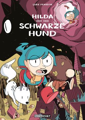 Hilda und der Schwarze Hund von Groenewald,  Michael, Pearson,  Luke, Wieland,  Matthias