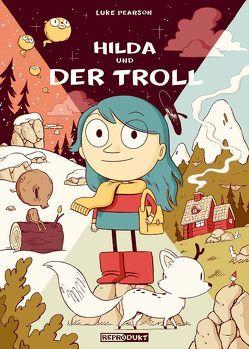 Hilda und der Troll von Pearson,  Luke, Wieland,  Matthias