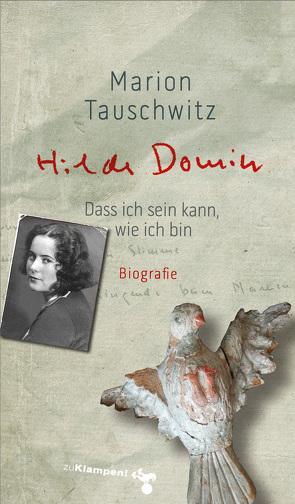 Hilde Domin von Tauschwitz,  Marion