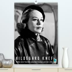 Hildegard Knef: Bilder einer Karriere zwischen Europa und den USA (Premium, hochwertiger DIN A2 Wandkalender 2020, Kunstdruck in Hochglanz) von CALVENDO