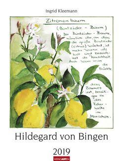 Hildegard von Bingen – Kalender 2019 von Kleemann,  Ingrid, Weingarten