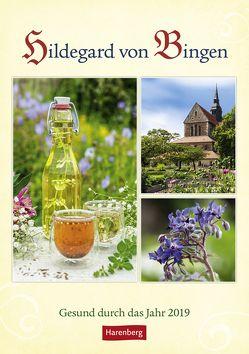 Hildegard von Bingen – Kalender 2019 von Durdel-Hoffmann,  Sabine, Harenberg