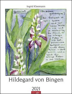 Hildegard von Bingen Kalender 2021 von Kleemann,  Ingrid, Weingarten