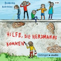 Hilfe, die Herdmanns kommen (2 CD) von Gustavus,  Frank, Kuhl,  Anke, Maar,  Nele, Maar,  Paul, Pietermann,  Gabrielle, Robinson,  Barbara