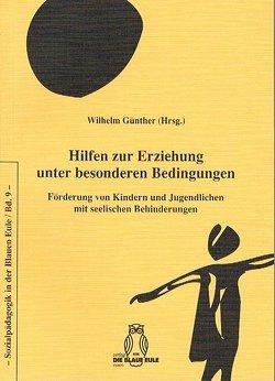 Hilfen zur Erziehung unter besonderen Bedingungen von Günther,  Wilhelm