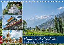 Himachal Pradesh – Bezaubernde Bergwelt im Himalaya (Tischkalender 2019 DIN A5 quer) von Leonhardy,  Thomas