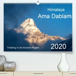 Himalaya Ama Dablam (Premium, hochwertiger DIN A2 Wandkalender 2020, Kunstdruck in Hochglanz) von Kehl,  Michael