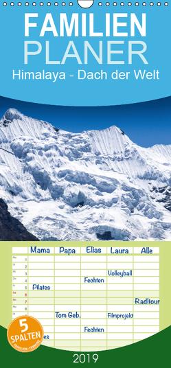 Himalaya – Dach der Welt – Familienplaner hoch (Wandkalender 2019 , 21 cm x 45 cm, hoch) von Koenig,  Jens
