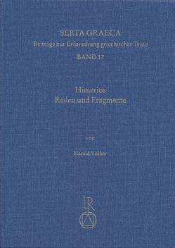 Himerios. Reden und Fragmente von Völker,  Harald