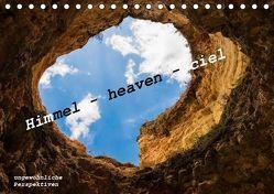 Himmel – heaven – ciel (Tischkalender 2019 DIN A5 quer) von von Hacht,  Peter