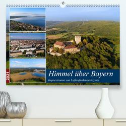 Himmel über Bayern (Premium, hochwertiger DIN A2 Wandkalender 2021, Kunstdruck in Hochglanz) von Luftaufnahmen.bayern