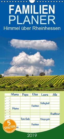 Himmel über Rheinhessen – Familienplaner hoch (Wandkalender 2019 , 21 cm x 45 cm, hoch) von John,  Eckhard