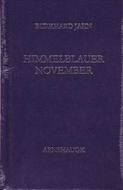 Himmelblauer November von Jahn,  Burkhard