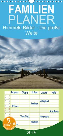 Himmels-Bilder – Die große Weite – Familienplaner hoch (Wandkalender 2019 , 21 cm x 45 cm, hoch) von Gimpel,  Frauke