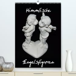 Himmlische Engelsfiguren (Premium, hochwertiger DIN A2 Wandkalender 2021, Kunstdruck in Hochglanz) von Herkenrath,  Sven