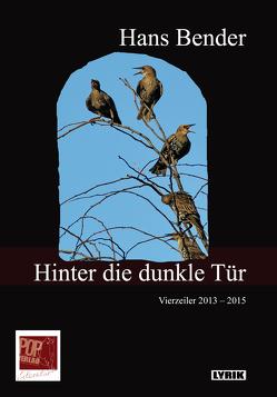 Hinter die dunkle Tür von Bender,  Hans, Breuer,  Theo, Pop,  Traian