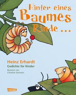 Hinter eines Baumes Rinde … von Erhardt,  Heinz, Sormann,  Christine