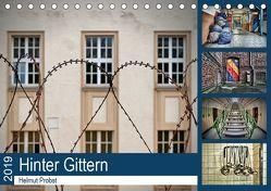Hinter Gittern (Tischkalender 2019 DIN A5 quer) von Probst,  Helmut