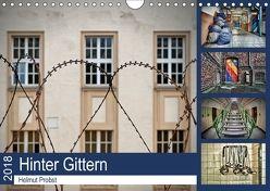 Hinter Gittern (Wandkalender 2018 DIN A4 quer) von Probst,  Helmut