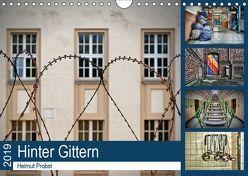 Hinter Gittern (Wandkalender 2019 DIN A4 quer) von Probst,  Helmut
