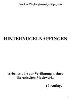 Hinternugelnapfingen Arbeitsstudie zur Verfilmung meines literarischen Machwerks; 2.Auflage von Ziegler,  Joachim