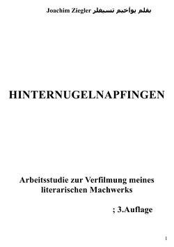 Hinternugelnapfingen Arbeitsstudie zur Verfilmung meines literarischen Machwerks; 3.Auflage von Ziegler,  Joachim