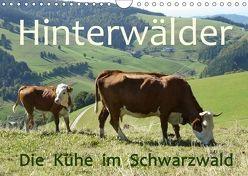 Hinterwälder – Die Kühe aus dem Schwarzwald (Wandkalender 2018 DIN A4 quer) von Goldscheider,  Stefanie