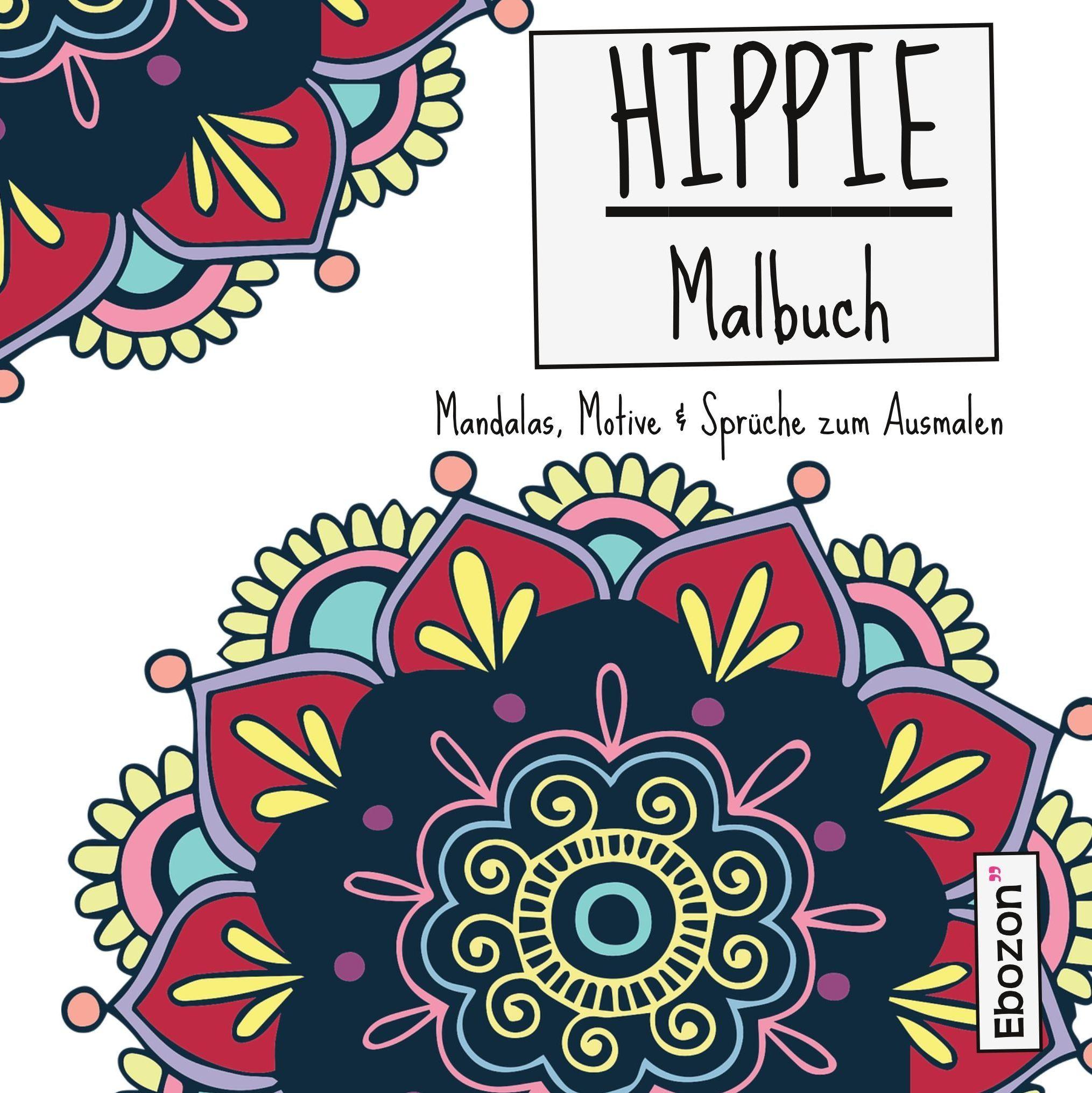 Ausgezeichnet Hippie Malbuchseiten Zeitgenössisch - Druckbare ...