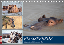 Hippos im südlichen Afrika (Tischkalender 2020 DIN A5 quer) von Quentin,  Udo