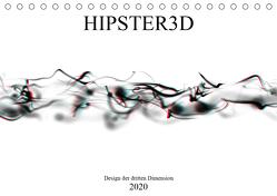 HIPSTER3D white – Design der dritten Dimension (Tischkalender 2020 DIN A5 quer) von Rieger,  Martin
