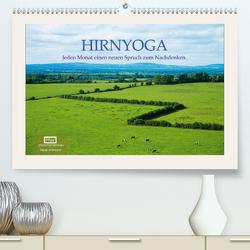 Hirnyoga (Premium, hochwertiger DIN A2 Wandkalender 2021, Kunstdruck in Hochglanz) von Wersand,  René