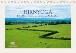 Hirnyoga (Tischkalender 2021 DIN A5 quer) von Wersand,  René