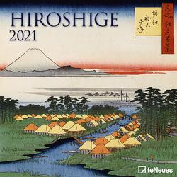 Hiroshige 2021 – Wand-Kalender – Broschüren-Kalender – 30×30 – 30×60 geöffnet – Kunst-Kalender von Hiroshige,  Utagawa