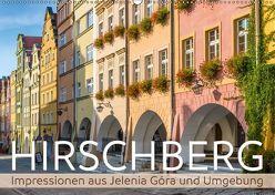 HIRSCHBERG Impressionen aus Jelenia Góra und Umgebung (Wandkalender 2018 DIN A2 quer) von Viola,  Melanie