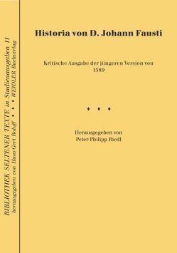 Historia von D. Johann Fausti von Riedl,  Peter Ph, Roloff,  Hans G