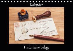 Historische Belege (Tischkalender 2019 DIN A5 quer) von Kirsch,  Gunter