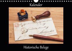 Historische Belege (Wandkalender 2019 DIN A4 quer) von Kirsch,  Gunter