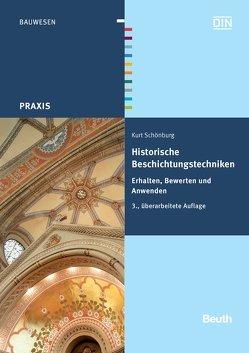 Historische Beschichtungstechniken von Schönburg,  Kurt