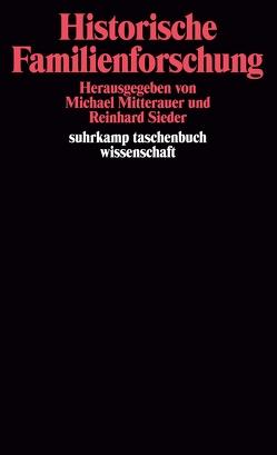 Historische Familienforschung von Krabic'ka,  Eleonore, Mitterauer,  Michael, Sieder,  Reinhard
