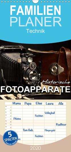 Historische Fotoapparate – Familienplaner hoch (Wandkalender 2020 , 21 cm x 45 cm, hoch) von Bleicher,  Renate