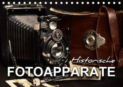 Historische Fotoapparate (Tischkalender 2019 DIN A5 quer) von Bleicher,  Renate