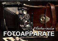 Historische Fotoapparate (Wandkalender 2019 DIN A2 quer) von Bleicher,  Renate