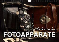 Historische Fotoapparate (Wandkalender 2019 DIN A4 quer) von Bleicher,  Renate