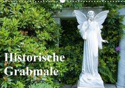 Historische Grabmale (Wandkalender 2018 DIN A3 quer) von E. Hornecker,  Heinz