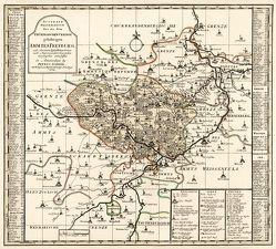 Historische Karte: Amt Freyburg 1754 (Plano) von Rockstuhl,  Harald, Schenk,  Peter (der Jüngere), Zürner,  Adam Friedrich