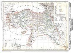 Historische Karte: Asiatische Türkei 1859 [gerollt] von Handtke,  Friedrich, Rockstuhl,  Harald